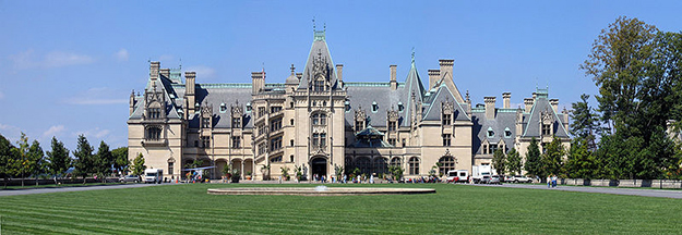 Beautiful Biltmore Estate located in Asheville, NC