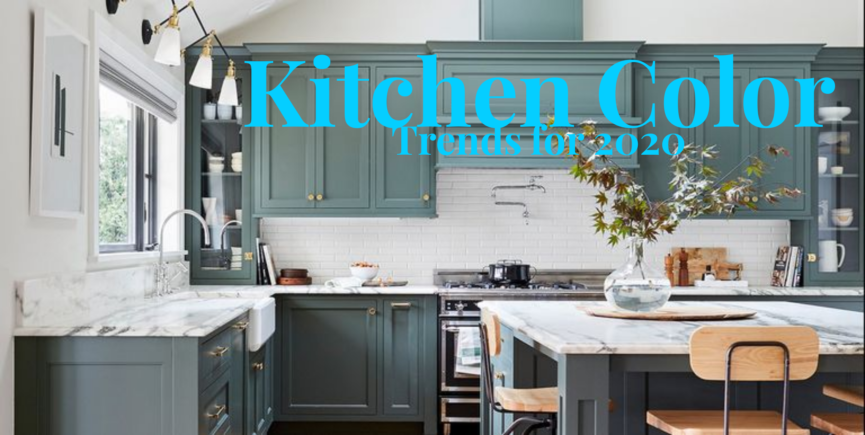 Kitchen Cabinet Colors for 2020
